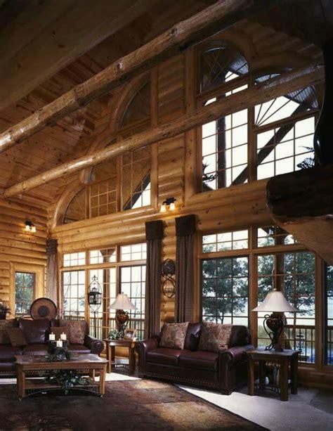 lavish log home cabin obsession