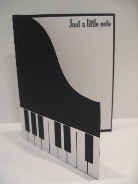shaped piano card  pedalpower  splitcoaststampers