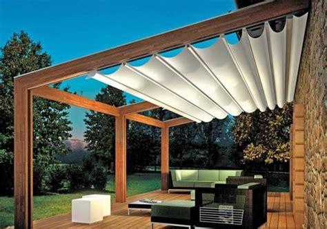 Sonnenschutz Terrasse Holz by Pergola Markise Zum Sonnenschutz 23 Beispiele