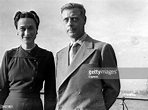 Edward, Duke of Windsor with his wife the Duchess of ...