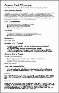 commis chef cv sample myperfectcv With commi chef resume sample