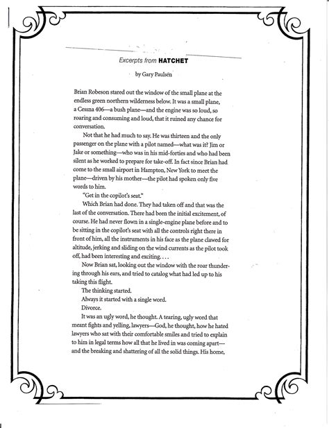 Hatchet Essay by Essay Questions For Hatchet Illustrationessays Web