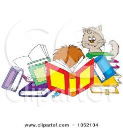Reading Books Clip Art Free