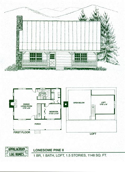 cottage floorplans log home floor plans log cabin kits appalachian log