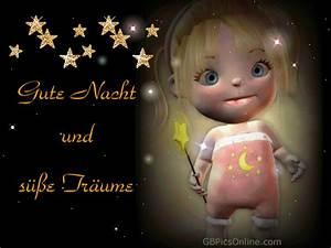 Süße Gute Nacht Sprüche : gute nacht und s e tr ume bild 20966 gbpicsonline ~ Frokenaadalensverden.com Haus und Dekorationen