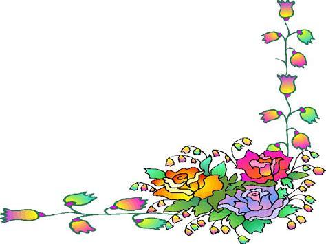 bloemen rand png bloemen kaders cliparts animaatjes nl