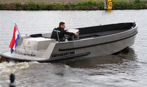 Alu Boot Bouwen by Van Vossen 660 Tender Verschuur Watersport