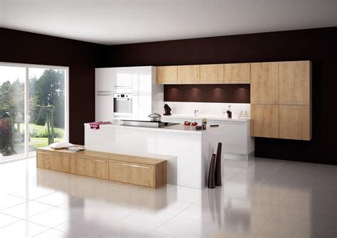 fabricant de cuisine haut de gamme cuisine modèle cottage en stratifié décor bois cuisine