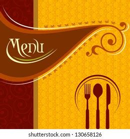 hotel menu card images stock  vectors shutterstock