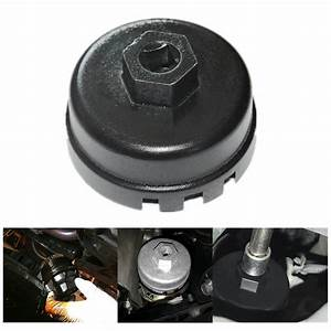 64 5mm Oil Filter Wrench Cap Housing Tool Remover For Toyota  Camry  Corolla Lexus