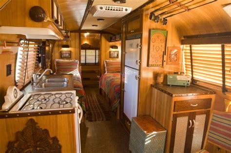 vintage airstream trailers interior  adirondack airstream  craig dorsey click picture