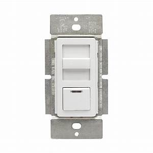 Leviton Trimatron 600 3 Off Rotary Dimmer  White  Light