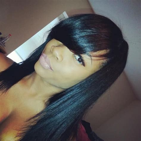 Sew In Weave Hairstyles With Side Bangs by 52 Best Flawless Hair Styles Weave Images On