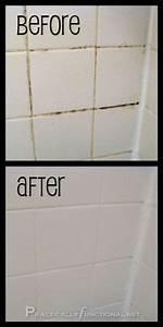 Wie Entfernt Man Schimmel In Der Dusche : fliesenfugen reinigen beste tipps sauberkeit pinterest ~ Frokenaadalensverden.com Haus und Dekorationen