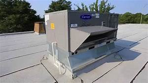 Carrier Package Rooftop Unit Installation
