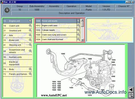 fiat doblo wiring diagram manual fiat doblo doblo cargo repair manual order