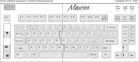Kinesis Maxim Adjustable Keyboard (kb210)