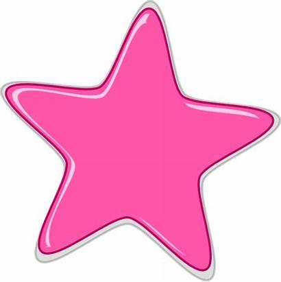 Pink Star Clip Clipart Vector Edited2 Clker