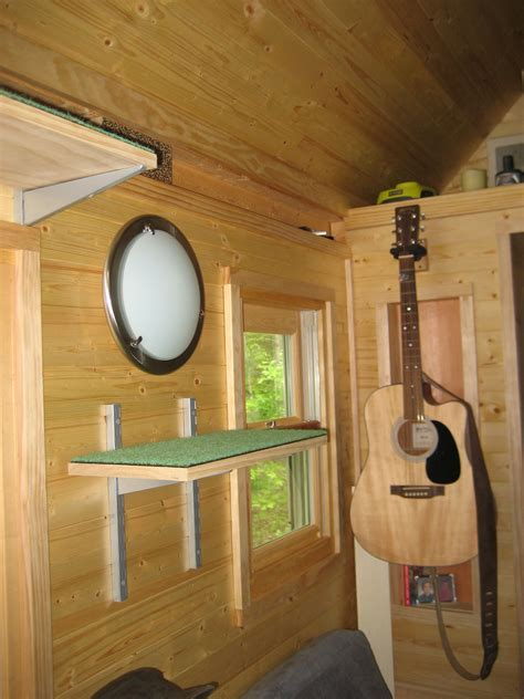 Life in 120 Square Feet   Tiny House Design