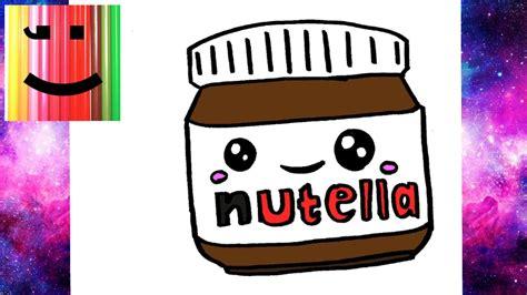 comment dessiner un pot de nutella kawaii 201 par 201 dessin facile
