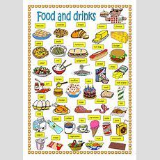 Food And Drinks Worksheet  Free Esl Printable Worksheets Made By Teachers