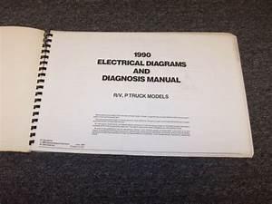 1990 Chevy R1500 R20 R30 R3500 Suburban Blazer Electrical Wiring Diagram Manual