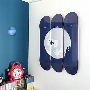 skateboard wall art e t skateboarder by invisible friend