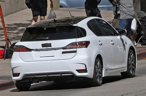 lexus hatchback 2014 spyshots lexus ct 200h f sport autoevolution