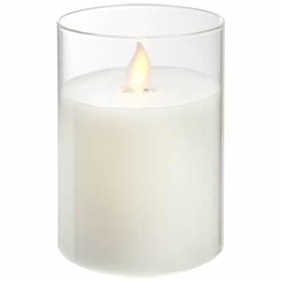 10cm Twinkle Pillar Candle Led Pfaff