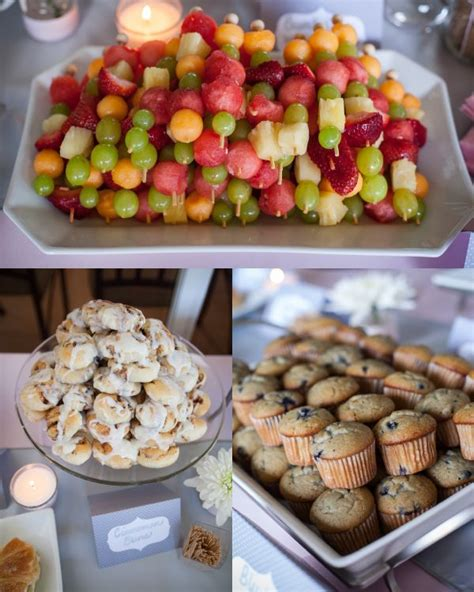Food Ideas For A Baby Shower Brunch - baby shower menu search food