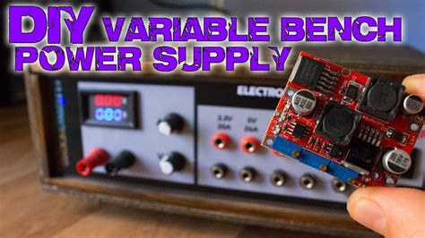 Diy Variable Bench Power Supply Less Than Youtube