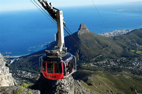 table mountain cable car new look for table mountain cable cars capetown etc