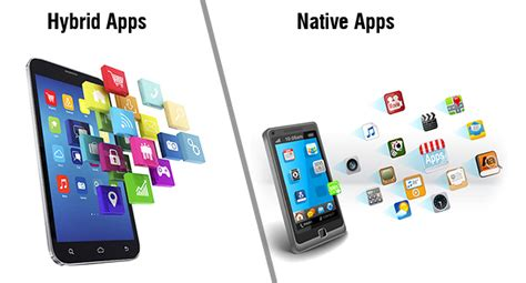 hybrid  native mobile apps outsourceindia