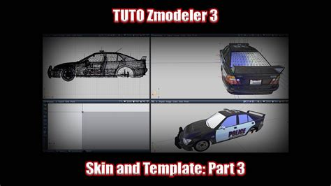 [Tuto] Zmodeler 3 How to create template and Skin for GTA