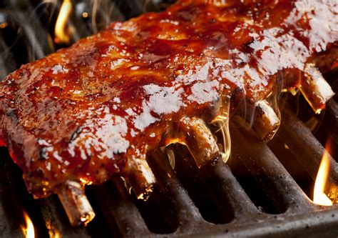ribs on the grill bbq ribs on the grill recipe dishmaps