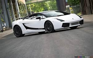 HD PC Desktop Wallpapers: Lamborghini Gallardo White HD ...