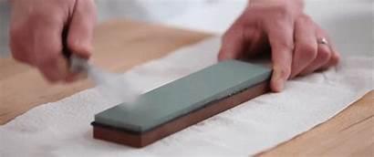 Knife Sharpening Whetstone Grains Sharpen Using Instruction
