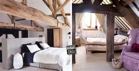 chambre avec poutre chambres avec poutres apparentes en bois voici 20 exemples