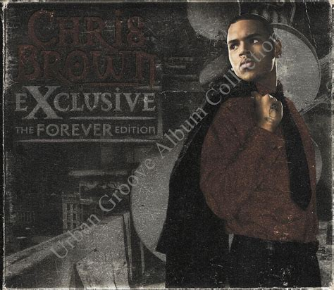 brown exclusive chris brown exclusive the forever edition 2008 r b