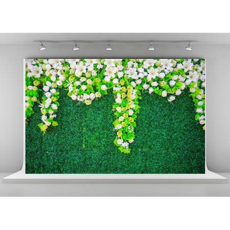 greendecor polyster green grass wall photography backdrops