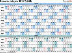 Financial calendars 201819 UK in PDF format