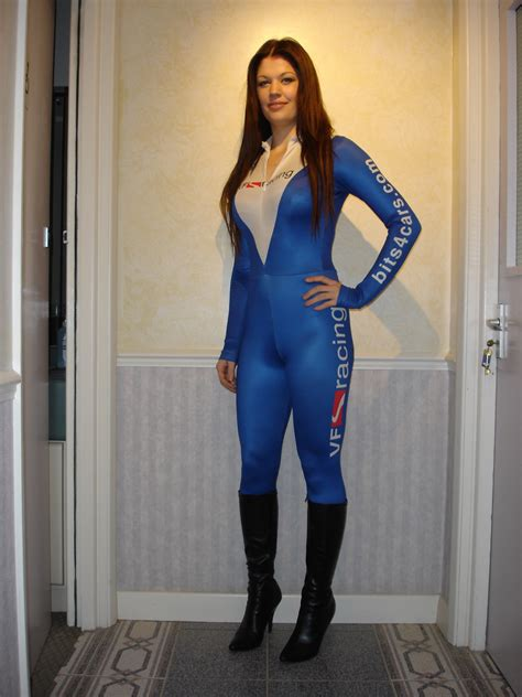 Tori in VF-Racing Outfit at Transtools | VF-Racing