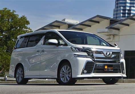 Review Toyota Vellfire toyota vellfire review