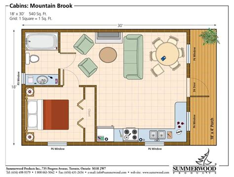 1 bedroom cabin plans one room cabin floor plans studio plan modern casita