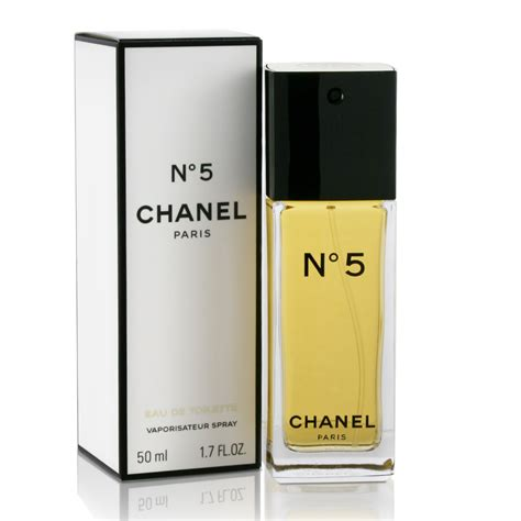 chanel no 5 eau de toilette 50ml s of kensington