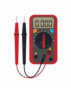 Voltage Ampere Meter Tester Icon  Simple Element