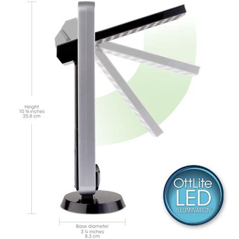 ottlite led desk l ottlite led task light led desk l led desk light