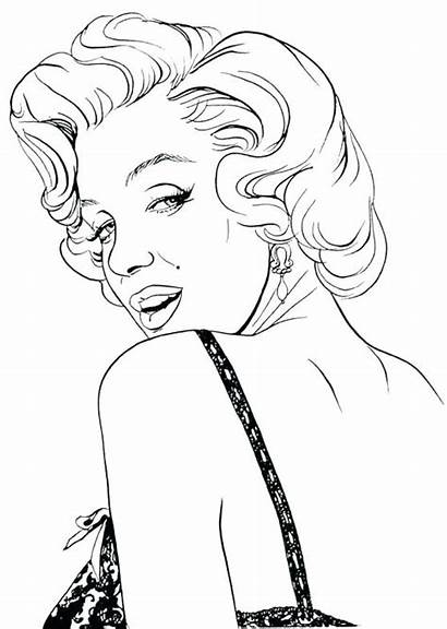 Coloring Pages Celebrity Perry Katy Getcolorings Printable