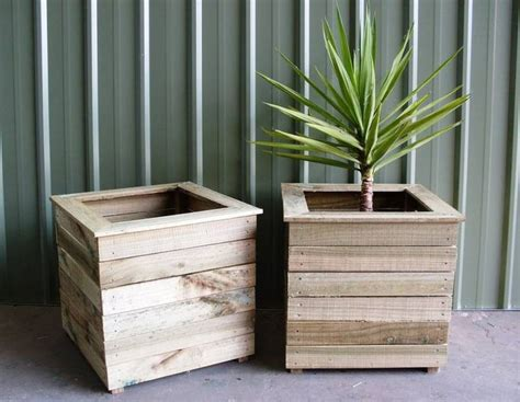 board cladding  planters raised beds pinterest