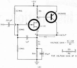 field effect transistor circuits may 1967 electronics With the voltage regulator with a field effect transistor